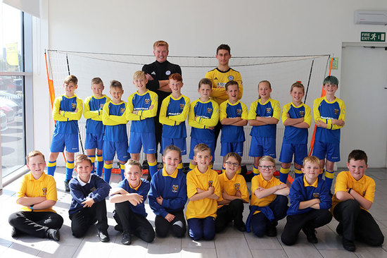 Whatriggs Primary football team.