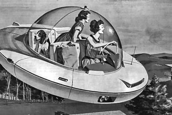 Motorists in the 80s envisaged driverless cars, electric vehicles and a new national speed limit