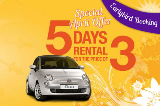 Get a great deal on car hire this Easter