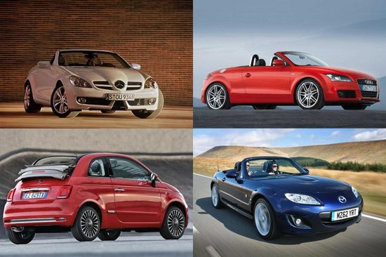 These used car buys are great for convertible car lovers