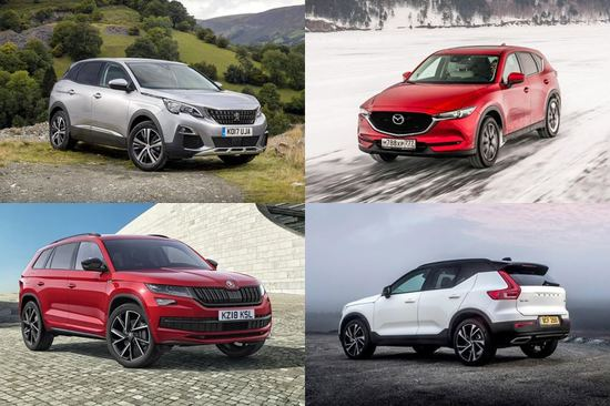Our pick of the best luxury SUVs for less than £30k