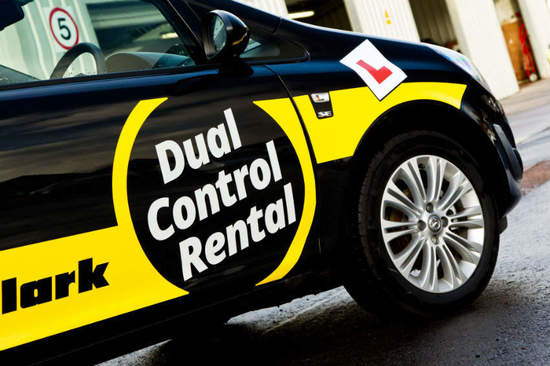 You can hire a dual control car from one of over 30 Arnold Clark Car & Van Rental branches