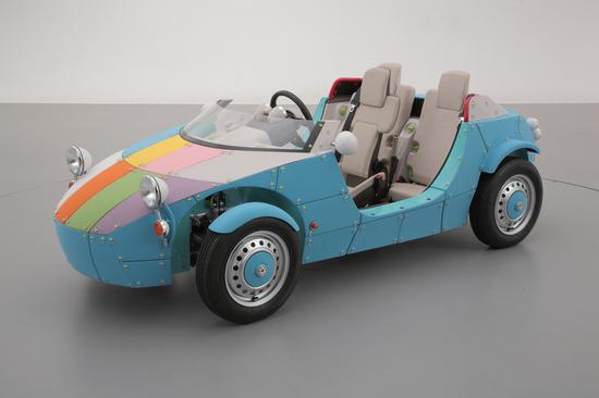 Image courtesy of Toyota: the Camatte57s has 57 customisable elements