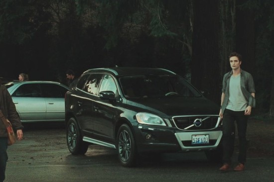 The XC60 is a cross between a coupe, 4x4 and an estate: You can spot Edward Cullen driving this in the second and third film.