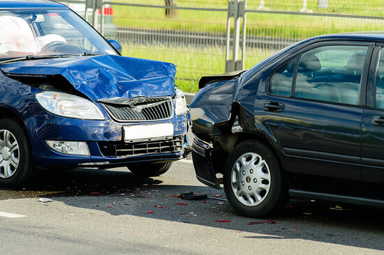 There's been an increase in fraudulent car collision claims over the past year.