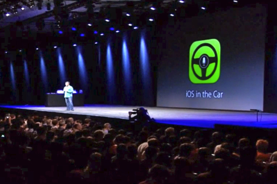 iOS in the Car will allow you to make calls, perform web searches and hear your text messages