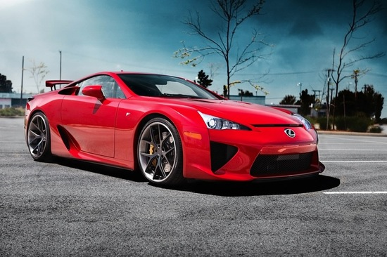 """Rune Berge Vik is one of just 500 owners of the """"LFA"""" model, and the first owner of this supercar in the Nordic region"""