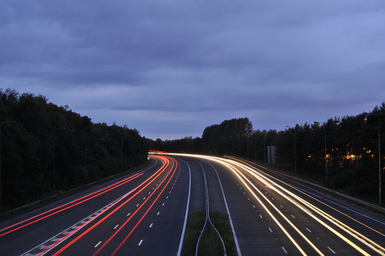 Safe driving helps traffic on the motorway to flow better - and keeps you on the right side of the law