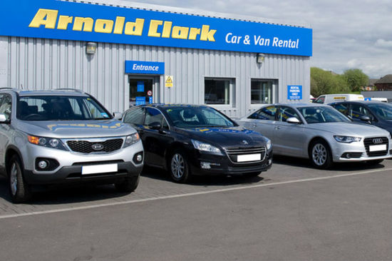 Arnold Clark Car & Van Rental provides low-cost, hassle-free vehicle hire