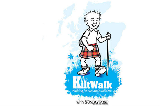 The Kiltwalk hosts walking events around Scotland... and will also be in Brazil in 2014