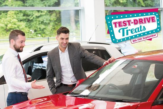Test Drive Treats | 8th–11th September