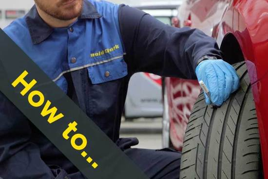 How to check your tyre tread depth
