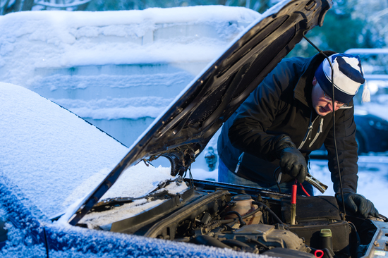 Freeze! You aren't going anywhere with a dead battery.
