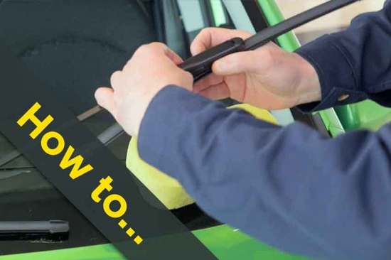 How to change your wiper blades