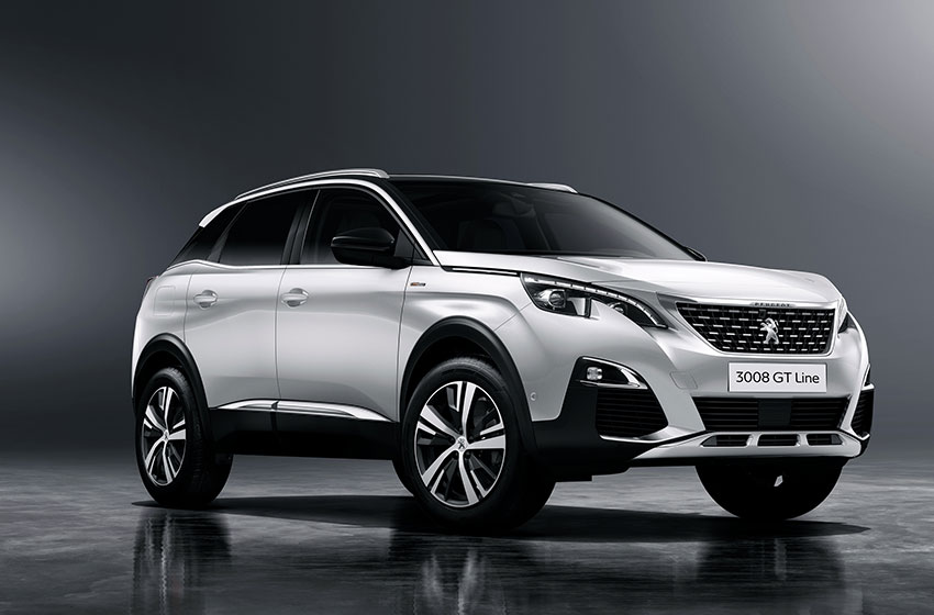 The Peugeot 3008 SUV