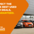 Expect the UK's best used car deals, guaranteed.