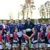Peter, manager at Arnold Clark Rental in Sheffield, poses with the rugby team